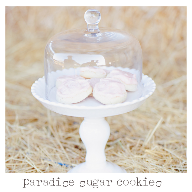 Paradise Sugar Cookie Recipes - One Small Child