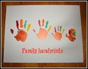 Hand Turkey Ideas - One Small Child