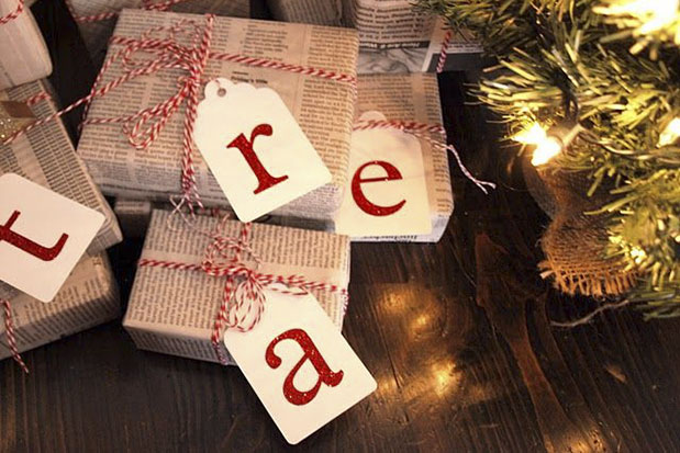Christmas Wrapping Ideas - One Small Child