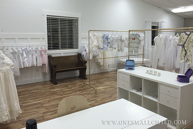 Behind The Scenes Baby Boutique Preview - One Small Child