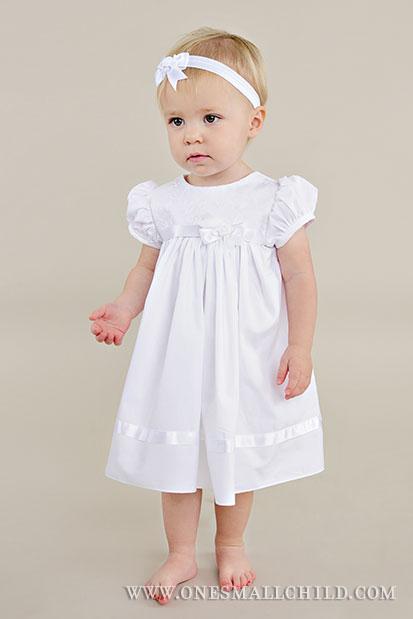Sarah After-Christening Dress - One Small Child