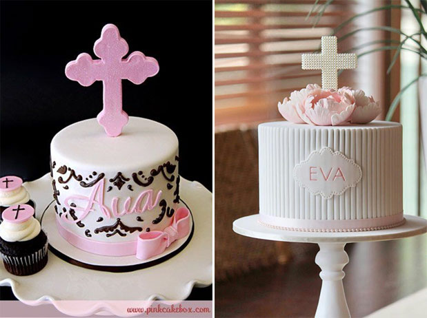 Party Cake with Crosses Ideas - One Small Child
