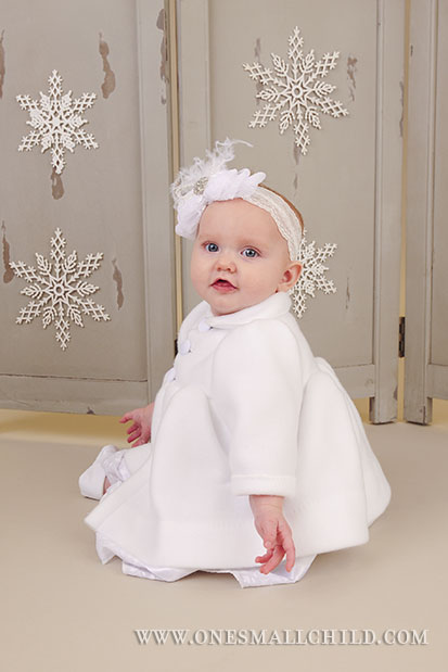 Madison Girls Christening Coat