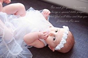 Christening Quotes from One Small Child