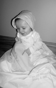 Customer Highlight: Little Sergio in Justin Baptism Gown - One Small Child