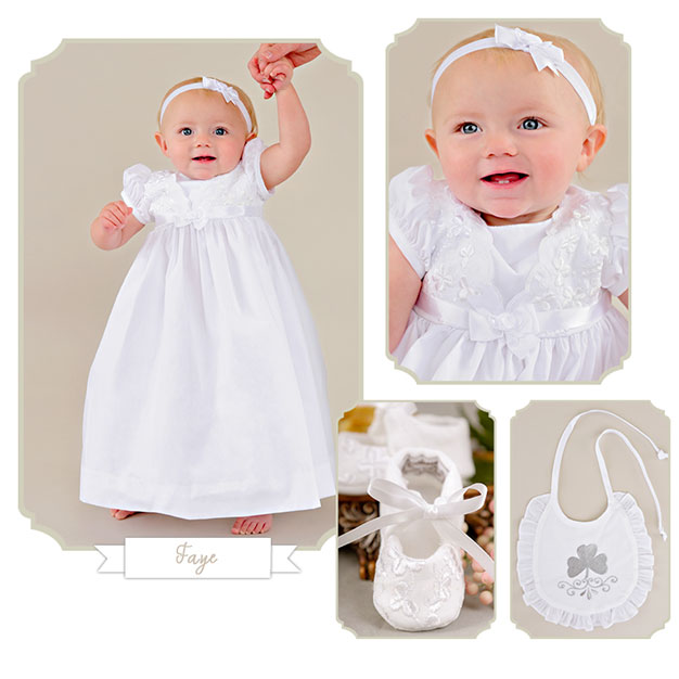 Faye | Irish Christening Wear from One Small Child