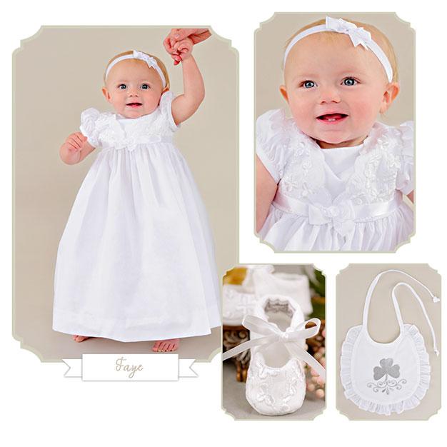 Faye Irish Christening Wear - One Small Child