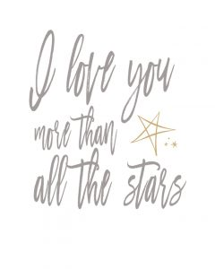 I Love You More Than All the Stars - One Small Child