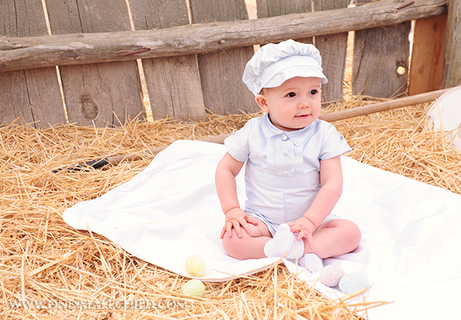 Noah Blue Christening Outfits for Boys | One Small Child
