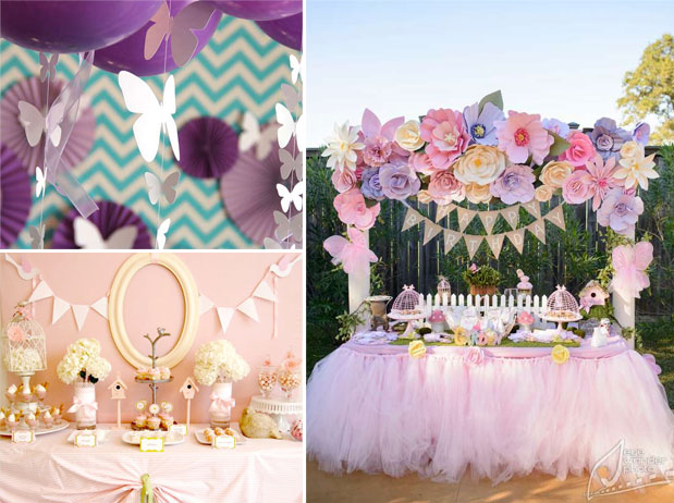 april showers girl baby shower themes for spring