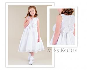 Miss Kodie Communion Dress - One Small Child