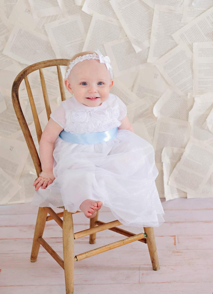 Piper Christening Dress - One Small Child