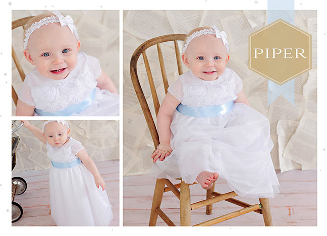 Piper Summer Christening Dress