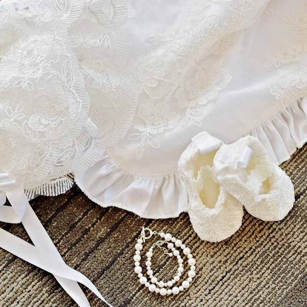 Royal Christening Gown Accessories - One Small Child