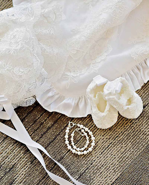 Royal Christening Gown Accessories