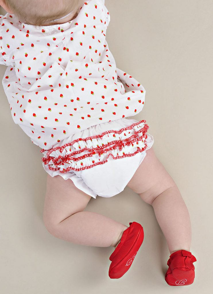 Strawberry Baby Summer Dress Diaper Cover - One Small Child