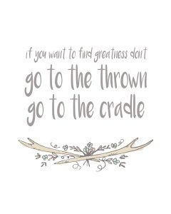 Go to the Cradle Boys - One Small Child