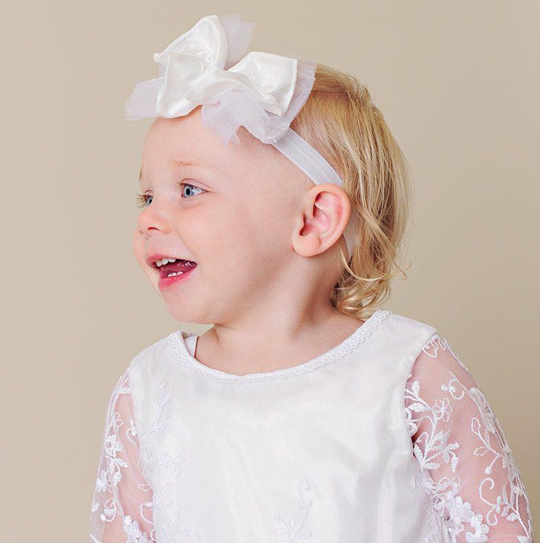 Eternity Christening Headband - One Small Child