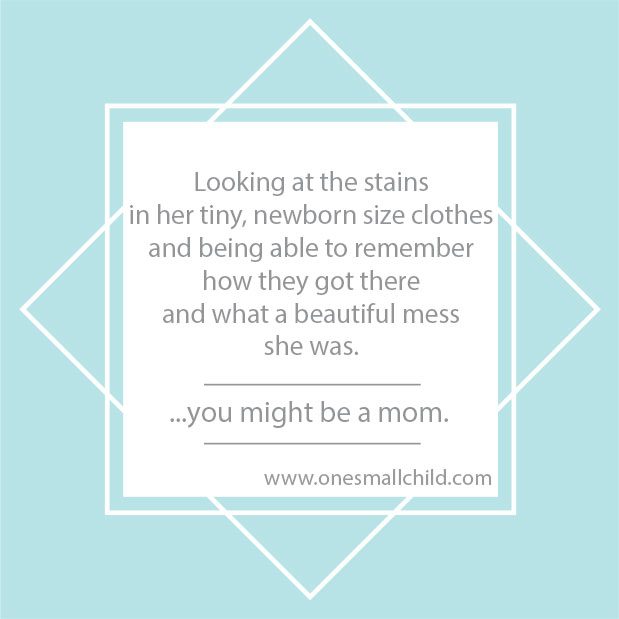 One Small Child Mom Meme: Beautiful Mess