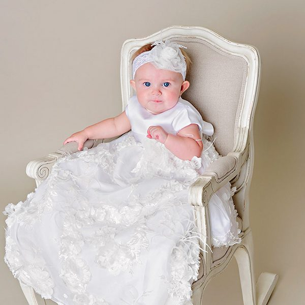 Fancy Christening Gown - One Small Child