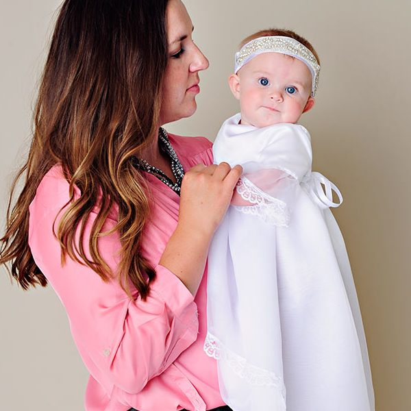Norah Christening Gown - One Small Child