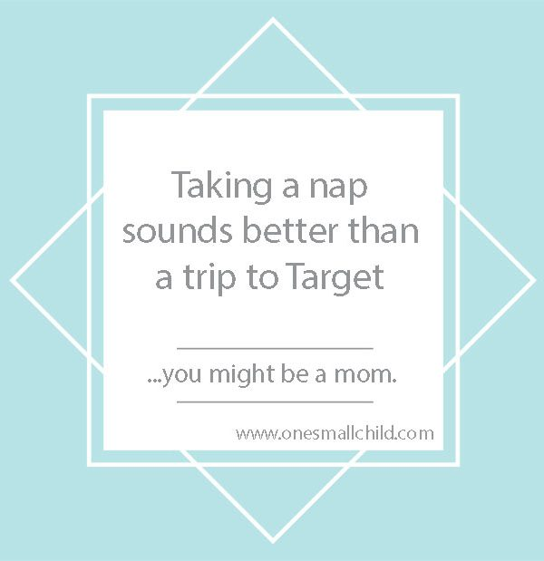 Taking A Nap Meme - One Small Child