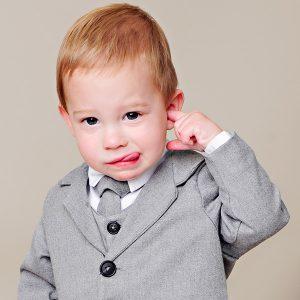 Derek Gray Suit Blooper - One Small Child