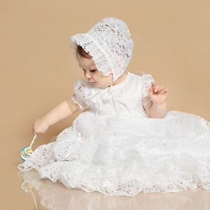Customer Lucy Lace Christening Gown - One Small Child