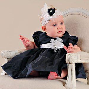 Kira Navy Dress - One Small Child