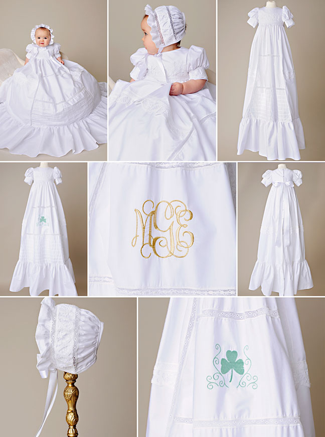 One small childMargaret Christening Gown