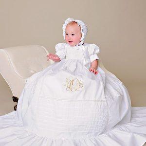 Margaret Battenburg Christening Gown - One Small Child