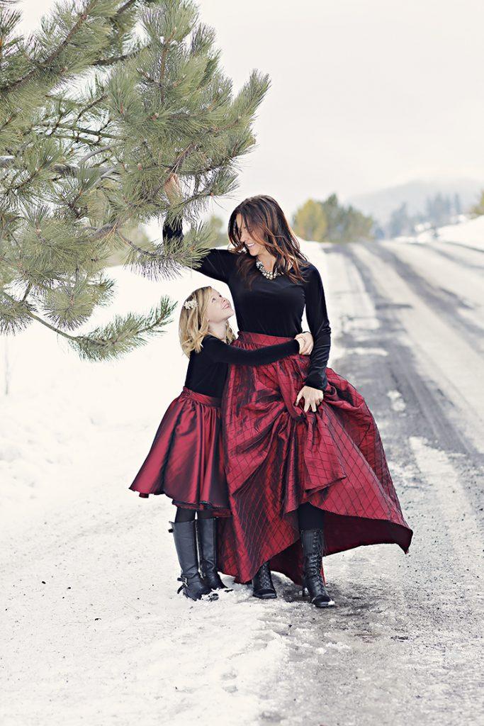Black Velvet Winter - One Small Child