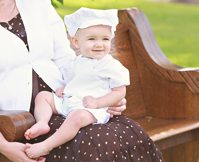 Johnny Christening Outfit - One Small Child
