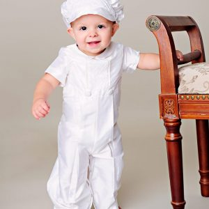 Anthony Christening Outfit - One Small Child