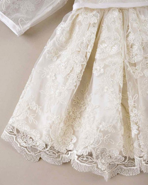 Becca Lace Christening Dress with Jacket