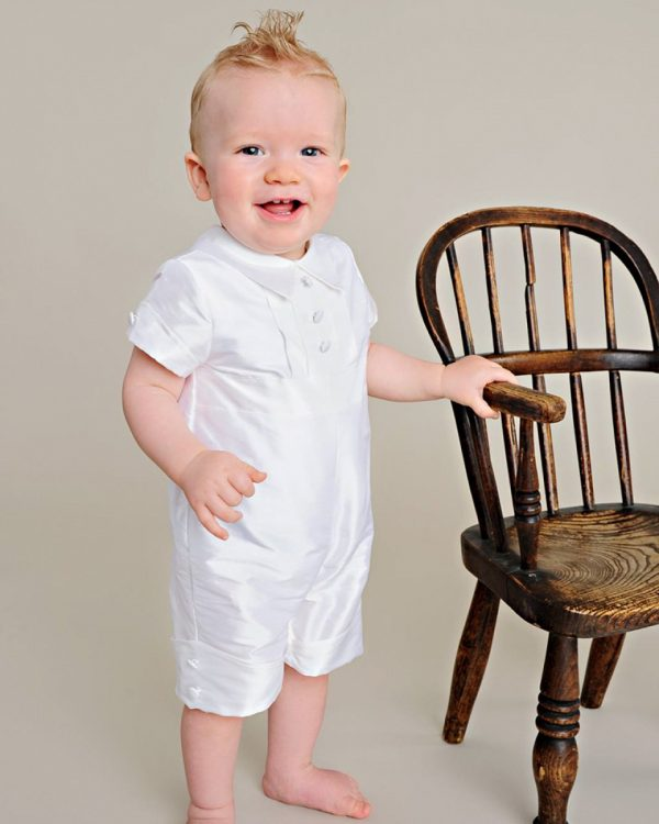 Charles Silk Christening Outfit