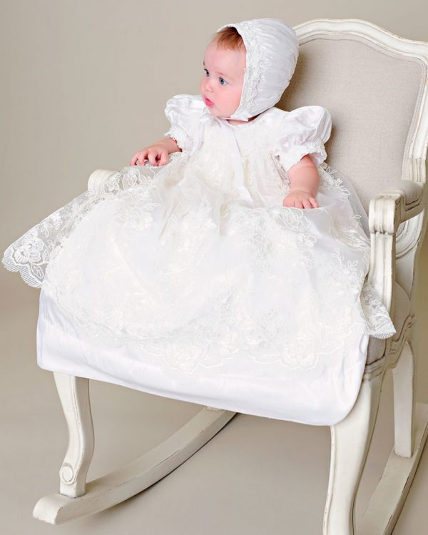 Chloe Christening Gown