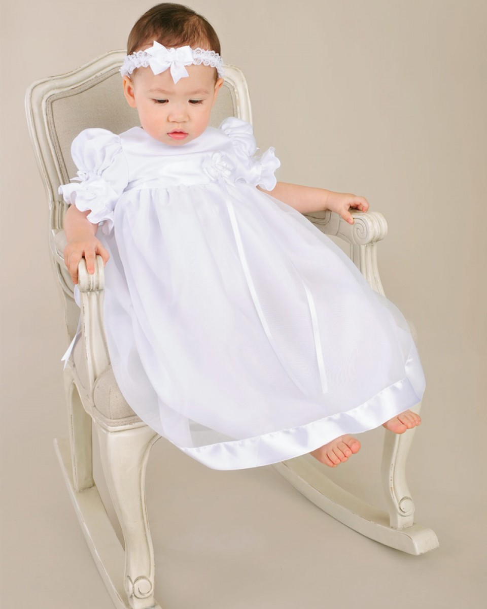 8170964ee Clarice Christening Gown - One Small Child