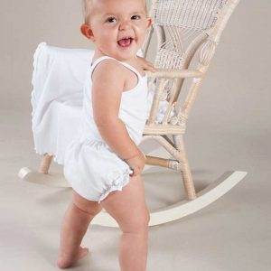 Cotton Christening Diaper Cover - One Small Child