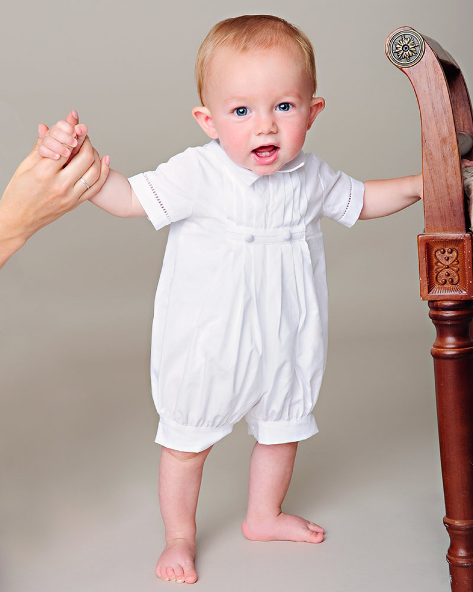 516828ede David Christening Outfit - One Small Child