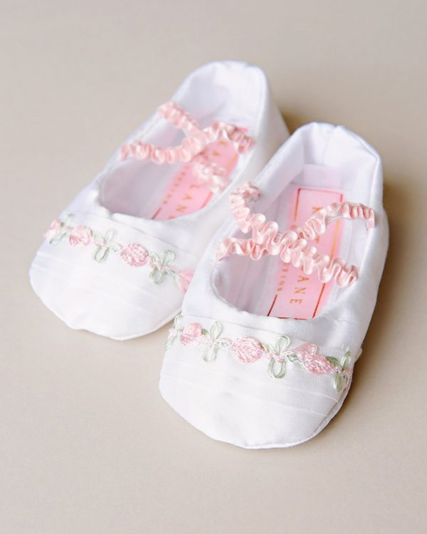 Jessa Christening Slippers