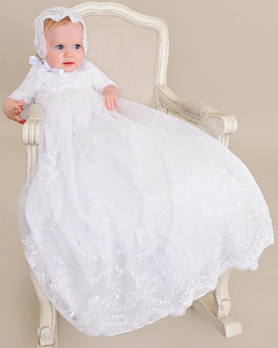 Lillian Christening Gown - One Small Child