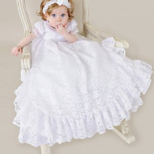 Lucy Christening Gown - One Small Child