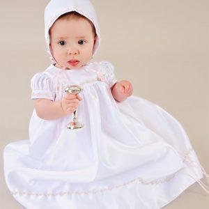 Mandi Christening Dress - One Small Child