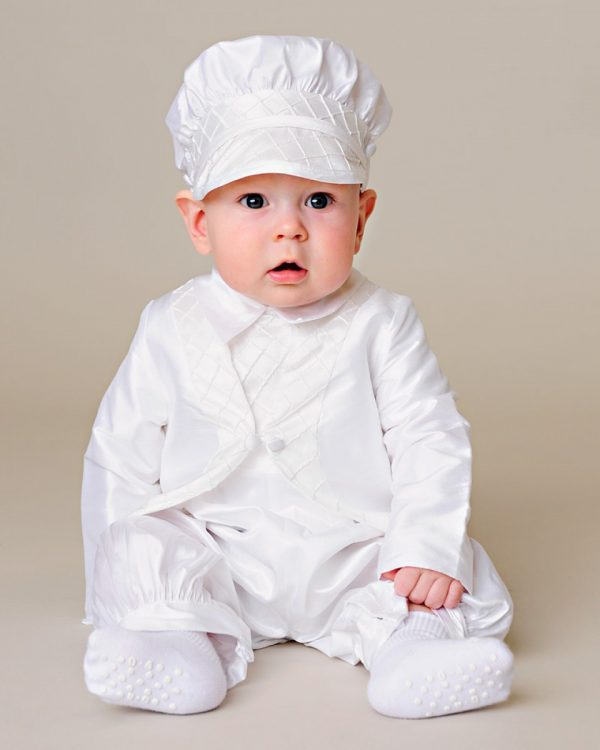 Samuel Christening Outfit - One Small Child