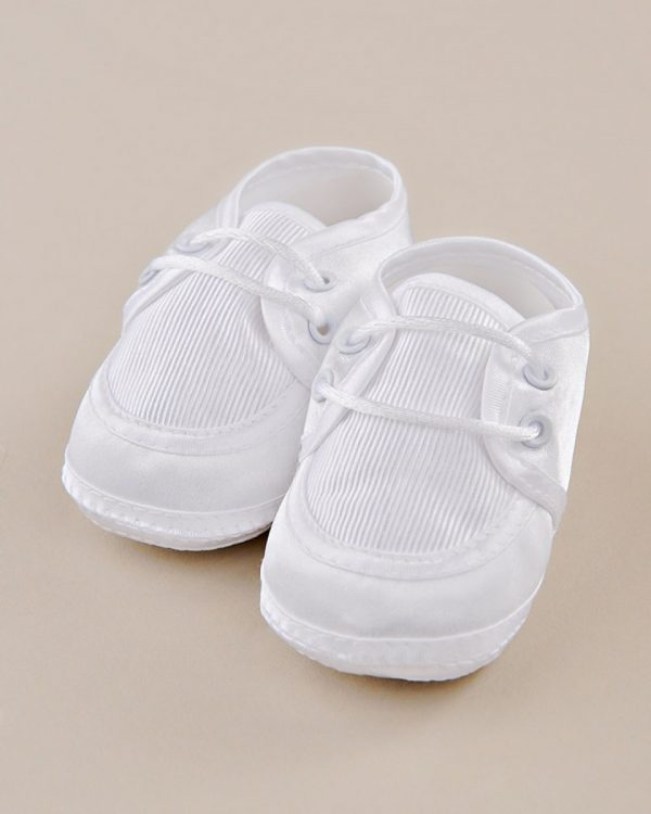 Satin Oxford Baby Shoes - One Small Child