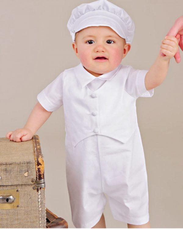 Seth Christening Outfit - One Small Child