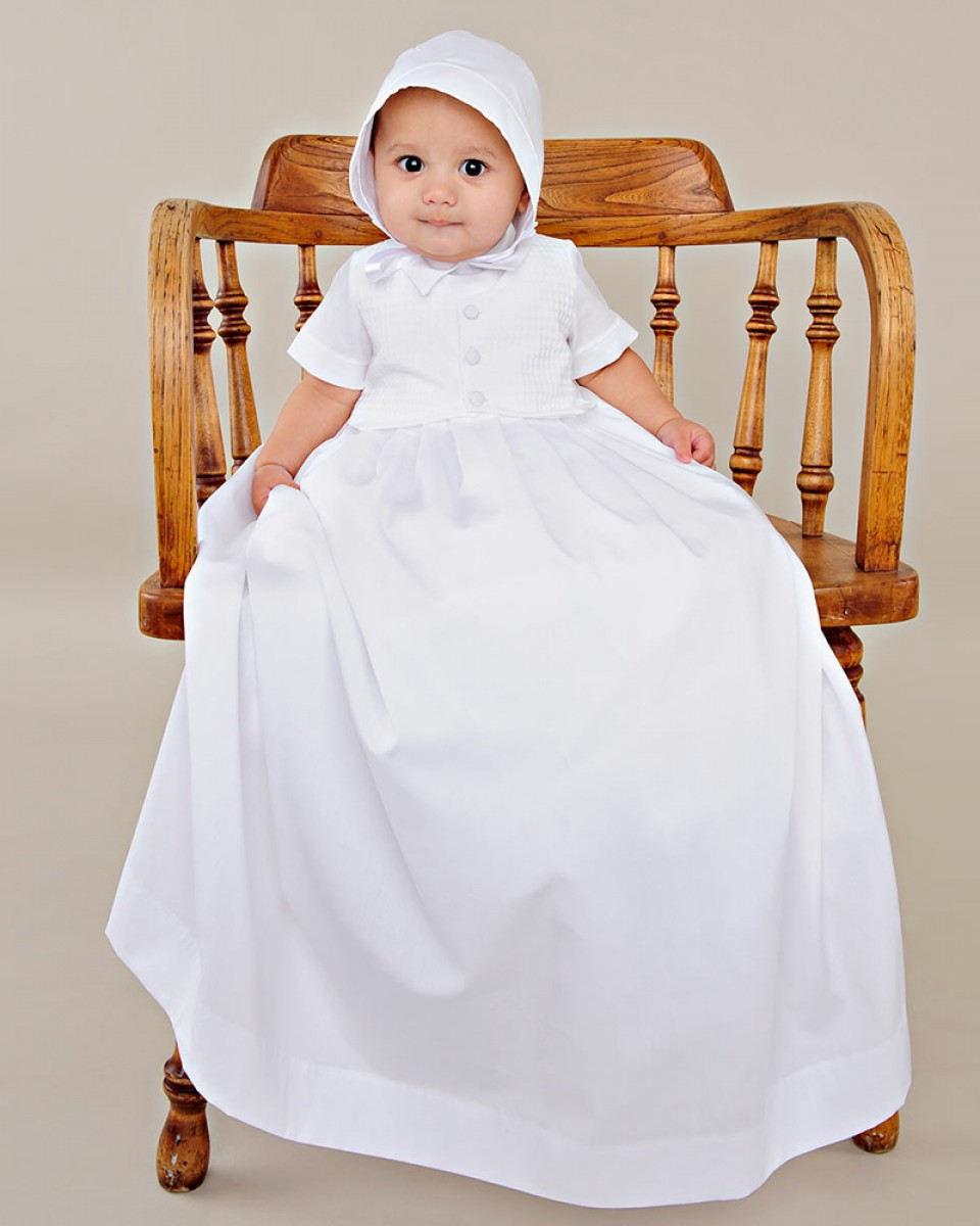 Stefan Christening Gown - One Small Child