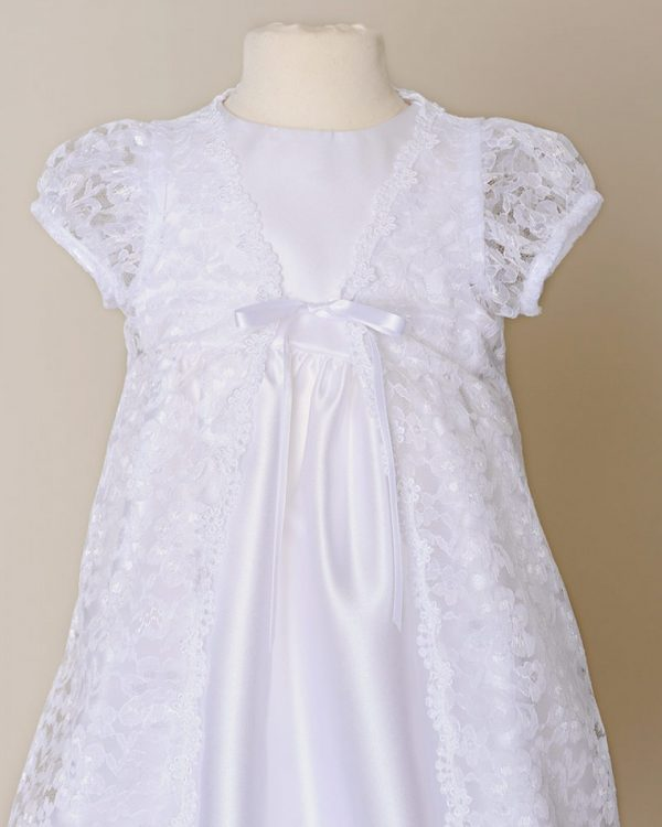 Violet Christening Gown