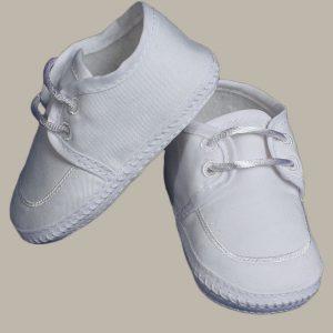 Boy's Gabardine Lace-up Shoe